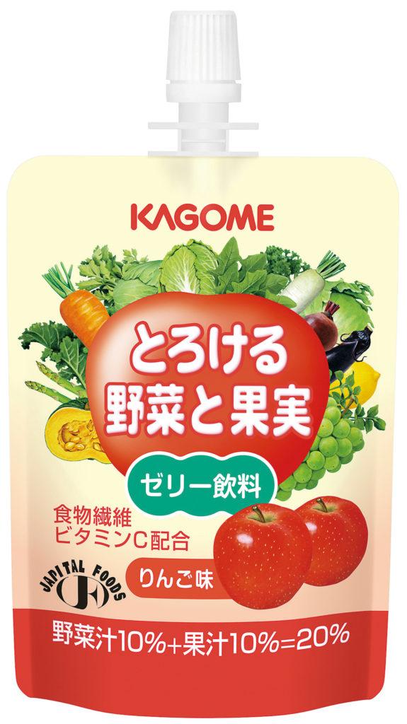 やわらか食品 とろける野菜と果実